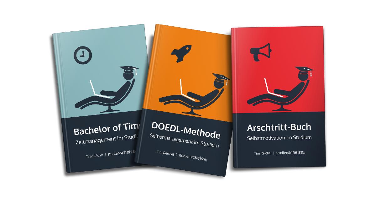69509811c42eb0 Bücher: Alle Studienscheiss-Bücher auf einen Blick!