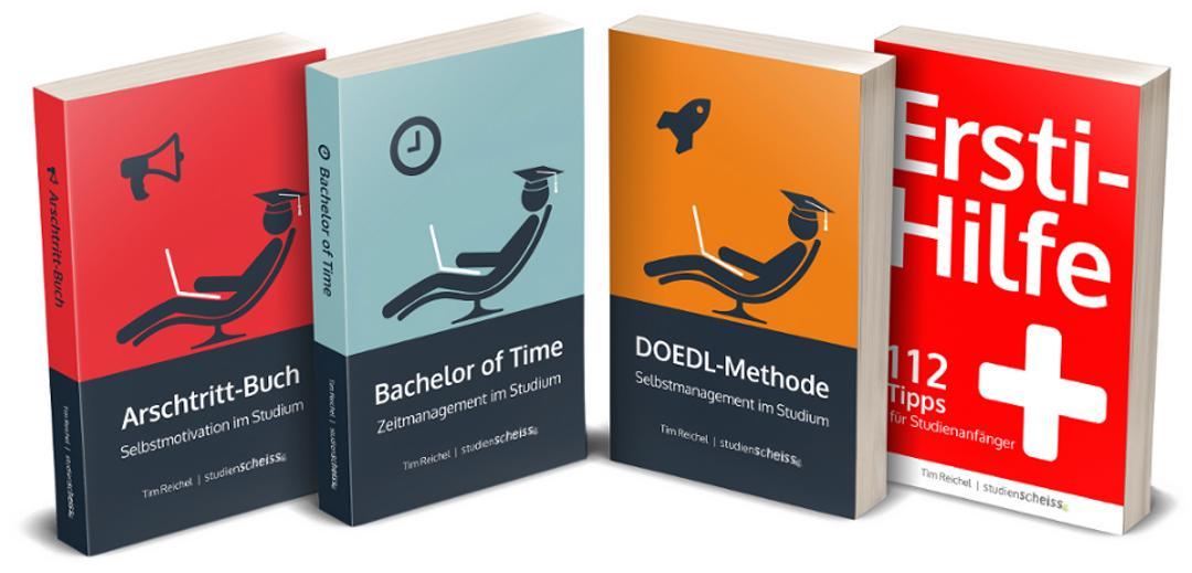 3beb1ebdd6ba71 Möchtest du sofort glücklicher und erfolgreicher studieren? Dann hol dir  jetzt meine Bücher und starte im Studium richtig durch!