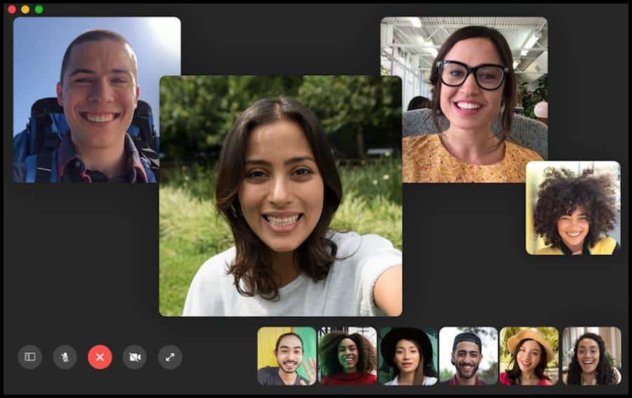 Facetime ist ein Messenger-Dienst von Apple und hilft dir dabei, mit deinen Kommilitonen in Kontakt zu bleiben. Neben dem Chat besteht die Möglichkeit zur Videotelefonie. Außerdem können Videokonferenzen durchgeführt werden.