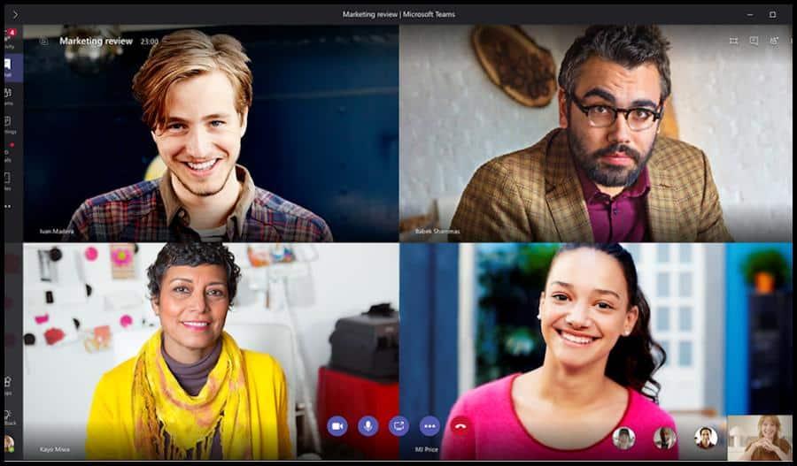 Mit der Collaboration-Software Microsoft Teams kasnnt du deine Lerngruppe organisieren und mit deinen Kommilitonen kommunizieren. Mithilfe der Chat-Funktion, Videotelefonie und Viodeokonferenzen könnt ihr euch innerhalb eurer Lerngruppe austauschen und abstimmen.