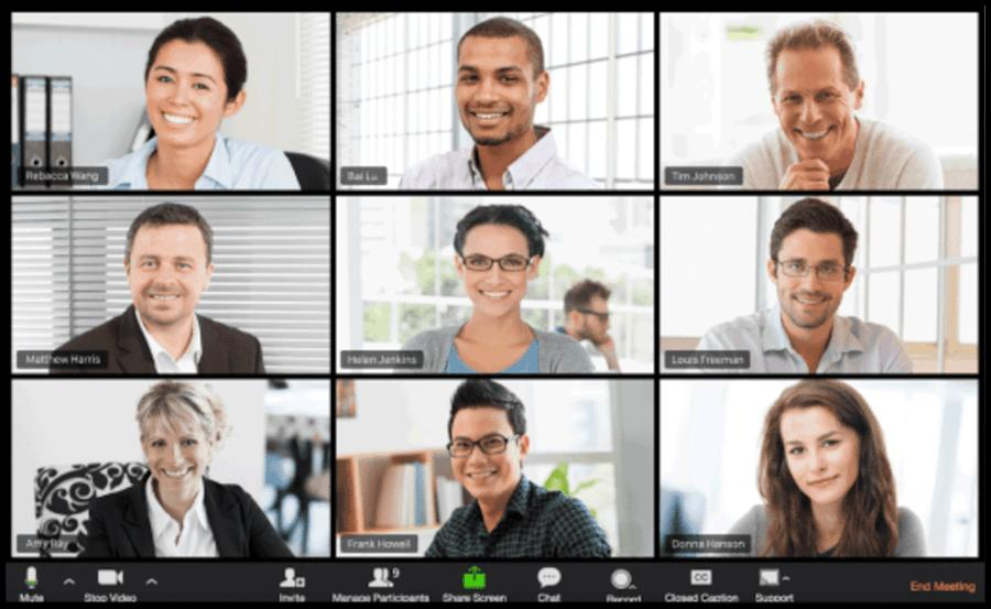 Mithilfe der Software Zoom kannst du mit deiner Lerngruppe Online-Besprechungen durchführen und Videokonferenzen veranstalten. Außerdem kannst du Telefonkonferenzen mit deinen Kommilitonen organisieren und Dokumente teilen.